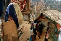 রোহিঙ্গা শিবিরের আগুনে অলৌকিকভাবে অক্ষত একটি ঘর!